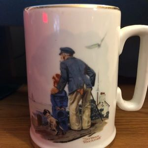 """""""Looking Out To Sea"""" Mug"""
